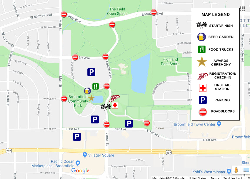 Community Park Event Map